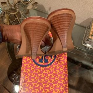 Tory Burch Shoes - Tory Burch silver mules